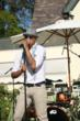Jamar Rogers performing at the Sunshine Beyond Summer Celebration (photo credit: Arnold Turner / Reed For Hope Foundation)